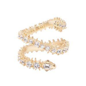 KENDRA SCOTT • Gold Beck Adjustable Wrap Ring